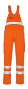 00469-860-14 Snickarbyxor med knäfickor - hi-vis orange