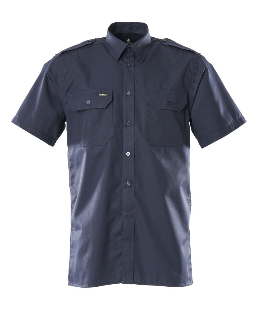 00503-230-01 Skjorta, kortärmad - marin