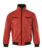 00516-620-02 Pilotjacka - röd