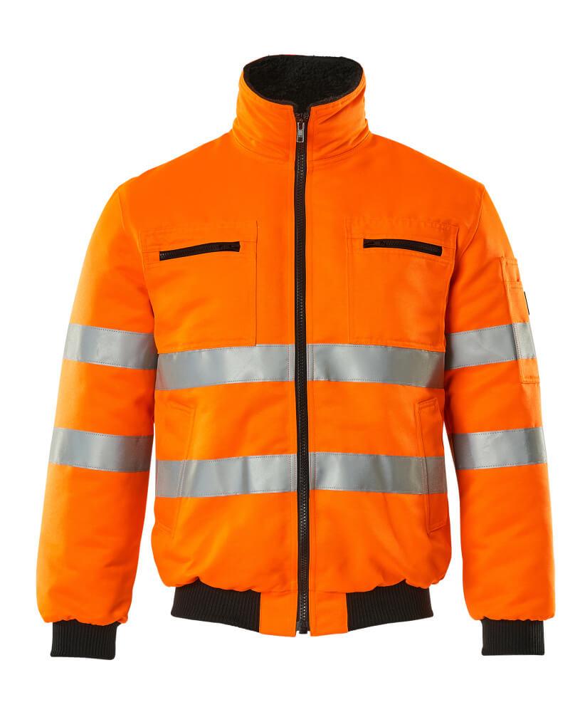 00516-660-14 Pilotjacka - hi-vis orange