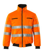 00516-660-14 Pilotjacka - hi-vis orange