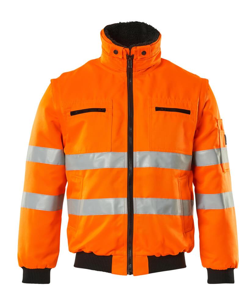 00520-660-14 Pilotjacka - hi-vis orange