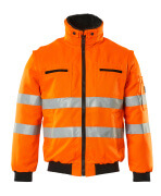 00520-660-14 Pilotjacka - hi-vis orange