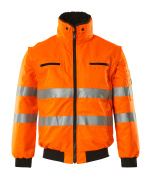 00535-880-14 Pilotjacka - hi-vis orange