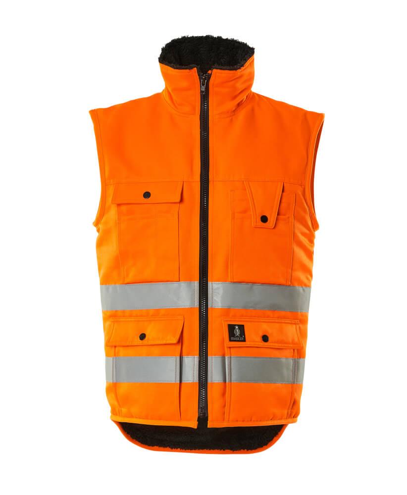 00554-660-14 Vinterväst - hi-vis orange