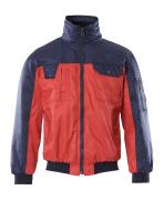 00922-620-21 Pilotjacka - röd/marin