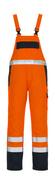 05192-064-141 Snickarbyxor - hi-vis orange/marin