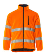 05242-125-14 Fleecejacka - hi-vis orange