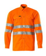 06004-136-14 Skjorta - hi-vis orange