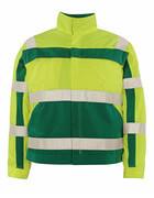 07109-470-1703 Jacka - hi-vis gul/grön