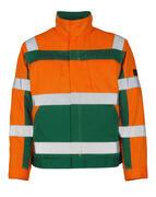 07109-860-1403 Jacka - hi-vis orange/grön