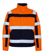 07109-860-141 Jacka - hi-vis orange/marin