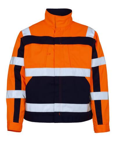 07109-860-141 Jacka - hi-vis orange/marin
