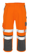 07149-860-14888 Knickers med knäfickor - hi-vis orange/antracit