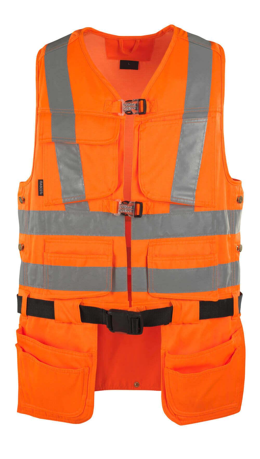 08089-860-14 Verktygsväst - hi-vis orange