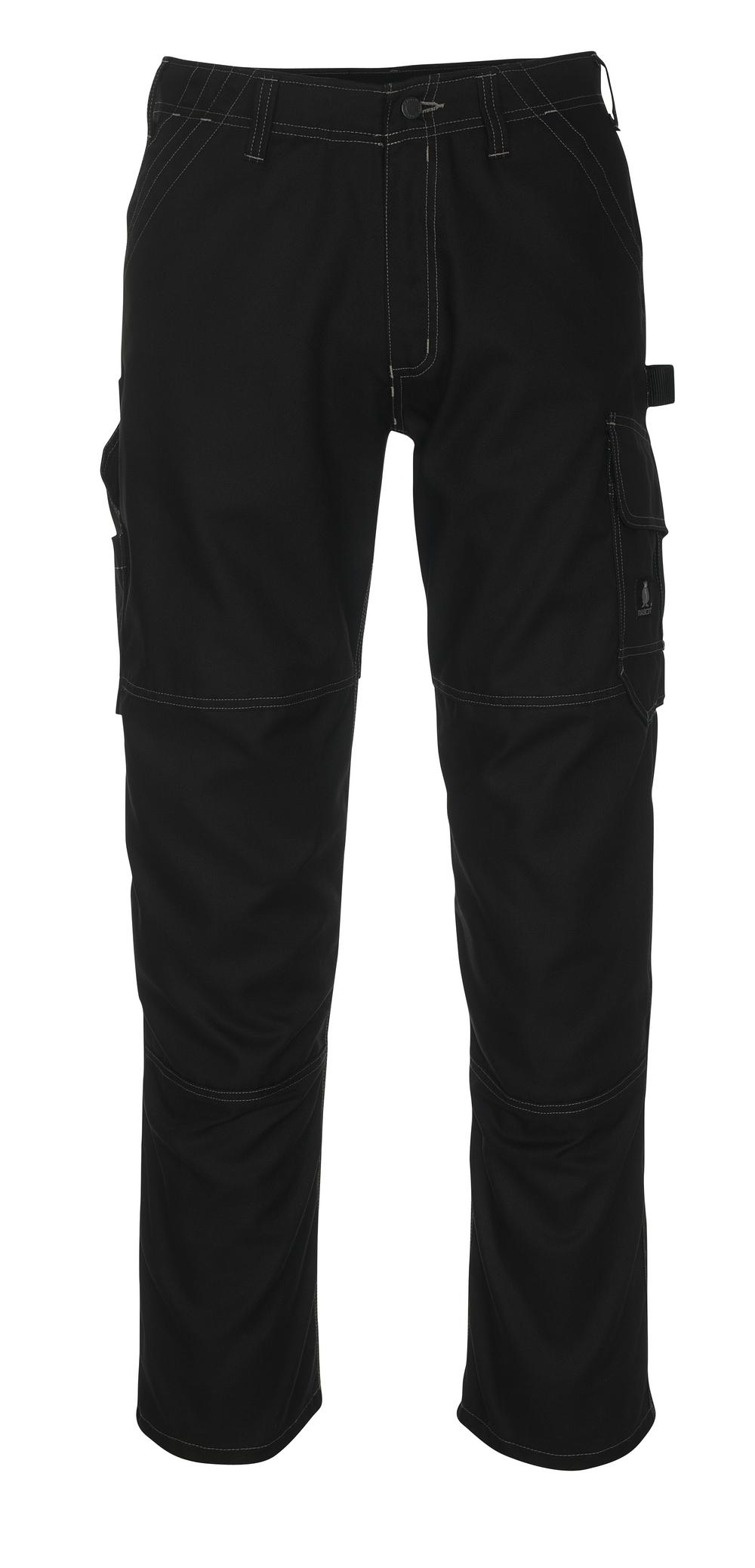 08679-154-09 Byxor med lårfickor - svart