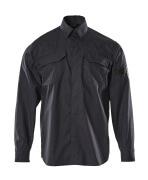 09004-142-10 Skjorta - mörk marin