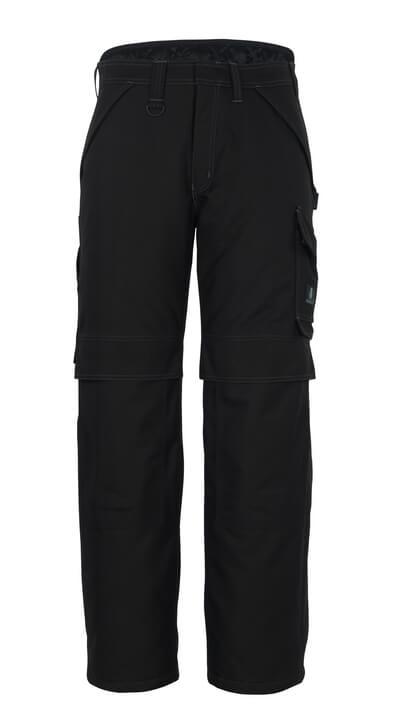 10090-194-09 Vinterbyxor med knäfickor - svart