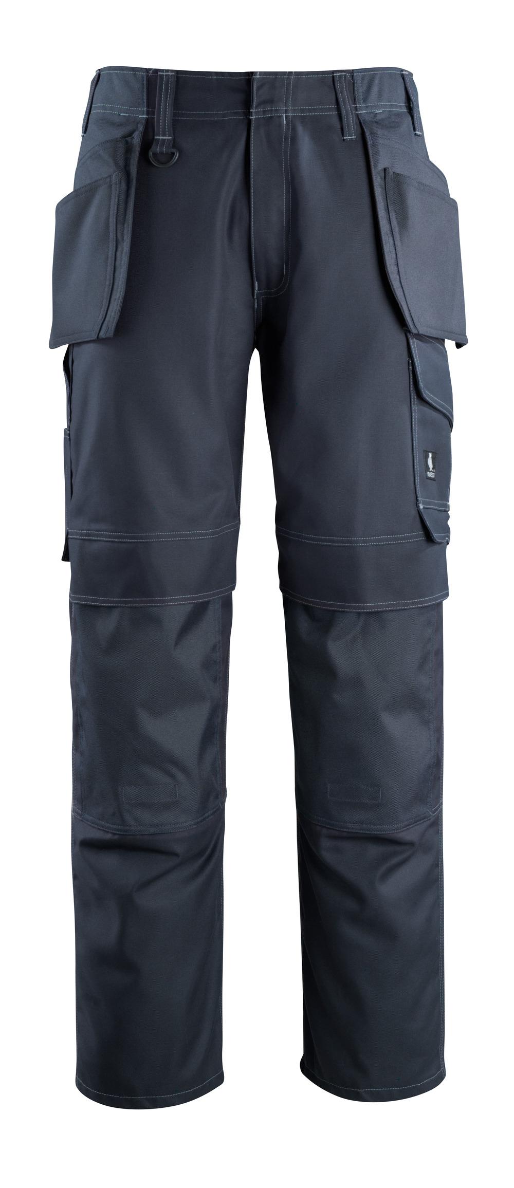 10131-154-010 Byxor med knä- och hängfickor - mörk marin