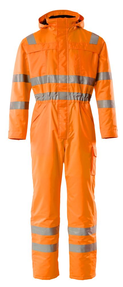 11119-880-14 Vinteroverall - hi-vis orange