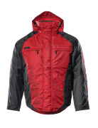 12035-211-0209 Vinterjacka - röd/svart