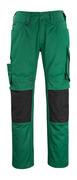 12179-203-0309 Byxor med knäfickor - grön/svart