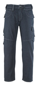 13379-207-B52 Jeans med lårfickor - denimblå