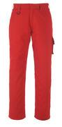 13579-442-02 Byxor med lårfickor - röd