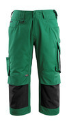 14149-442-0309 Knickers med knäfickor - grön/svart