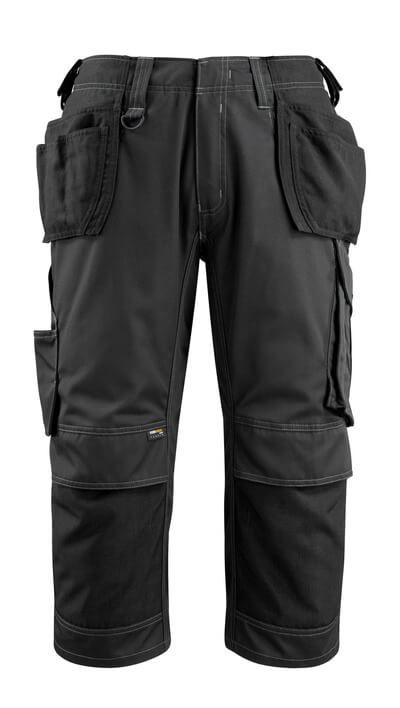 14449-442-09 Knickers med knä- och hängfickor - svart