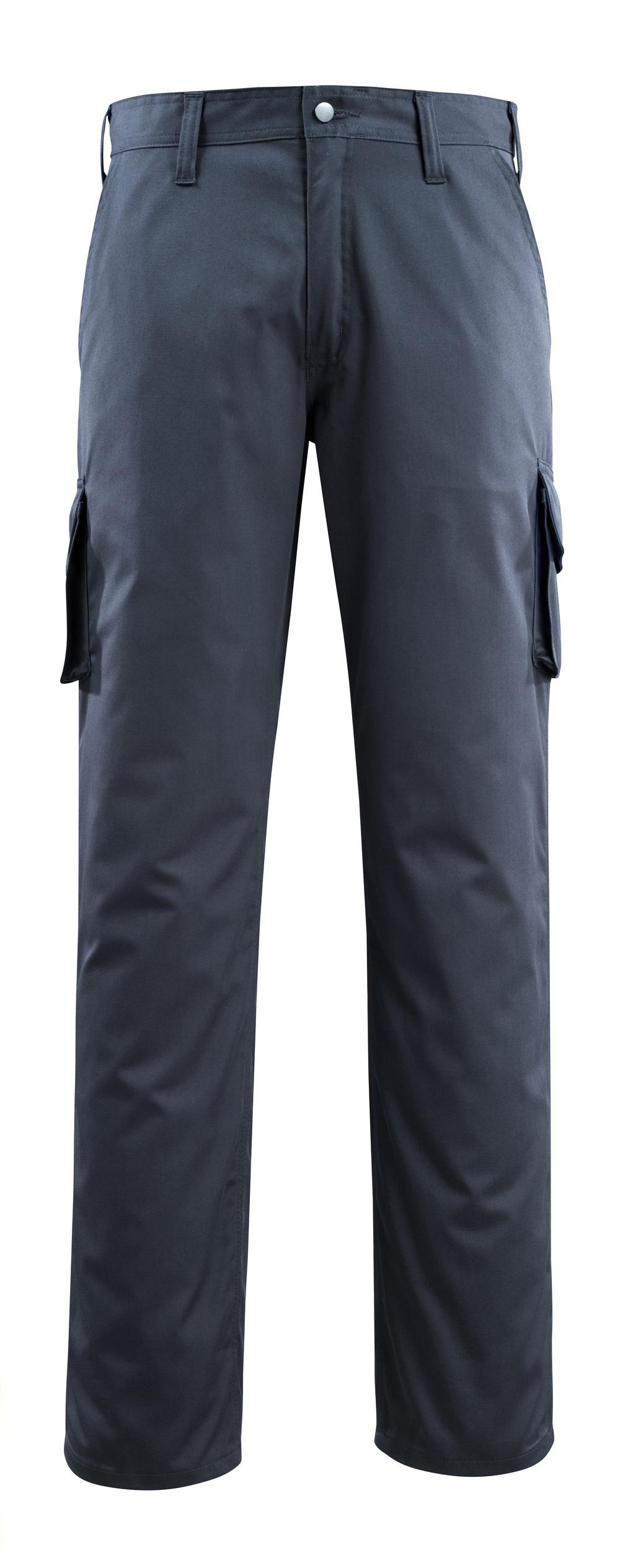14779-850-010 Byxor med lårfickor - mörk marin
