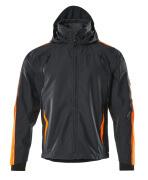 15001-222-01014 Skaljacka - mörk marin/hi-vis orange