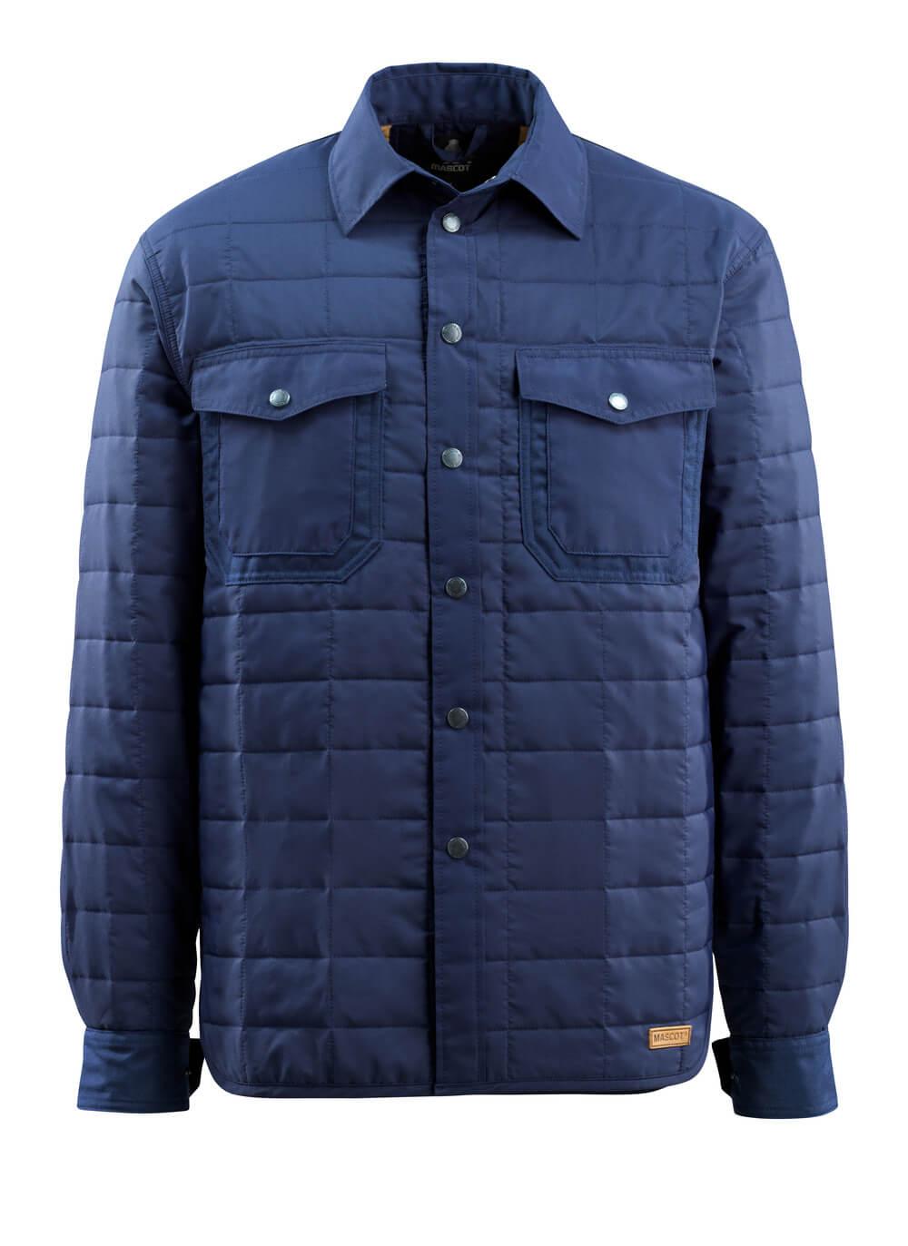 15304-097-01 Skjorta med foder - marin