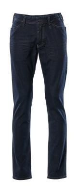 15379-869-76 Jeans - tvättad blå denim
