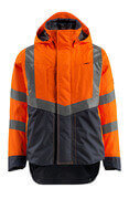 15501-231-14010 Skaljacka - hi-vis orange/mörk marin