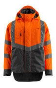 15501-231-1418 Skaljacka - hi-vis orange/mörk antracit