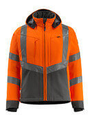 15502-246-1418 Softshelljacka - hi-vis orange/mörk antracit