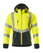 15502-246-14010 Softshelljacka - hi-vis orange/mörk marin