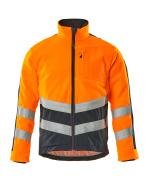 15503-259-14010 Fleecejacka - hi-vis orange/mörk marin