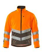 15503-259-1418 Fleecejacka - hi-vis orange/mörk antracit
