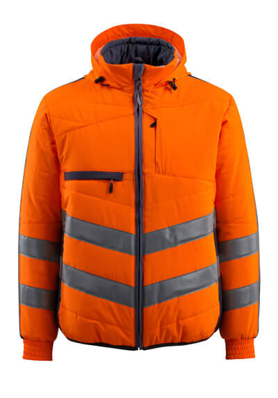 15515-249-14010 Jacka - hi-vis orange/mörk marin