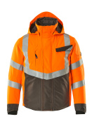 15535-231-1418 Vinterjacka - hi-vis orange/mörk antracit