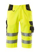 15549-860-1709 Shorts, långa - hi-vis gul/svart