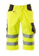 15549-860-1718 Shorts, långa - hi-vis gul/mörk antracit