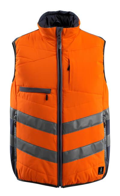 15565-249-14010 Vinterväst - hi-vis orange/mörk marin