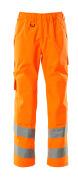 15590-231-14 Överdragsbyxor med knäfickor - hi-vis orange