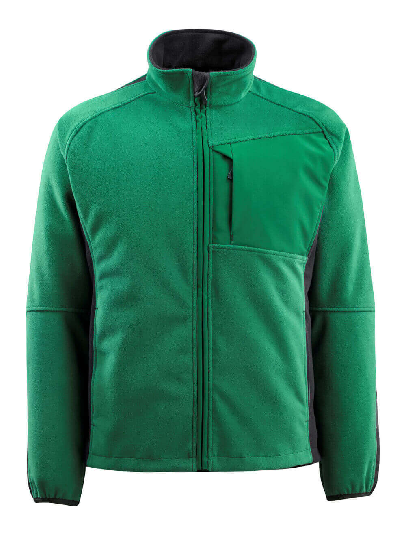 15603-259-0309 Fleecejacka - grön/svart