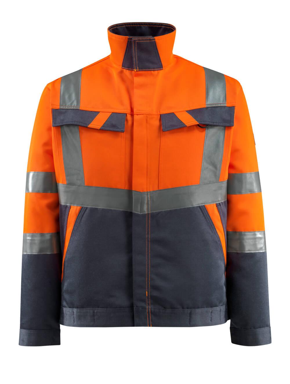 15909-948-14010 Jacka - hi-vis orange/mörk marin