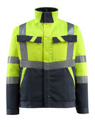 15909-948-14010 Jacka - hi-vis orange/mörk marin