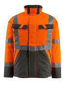 15935-126-1418 Vinterjacka - hi-vis orange/mörk antracit